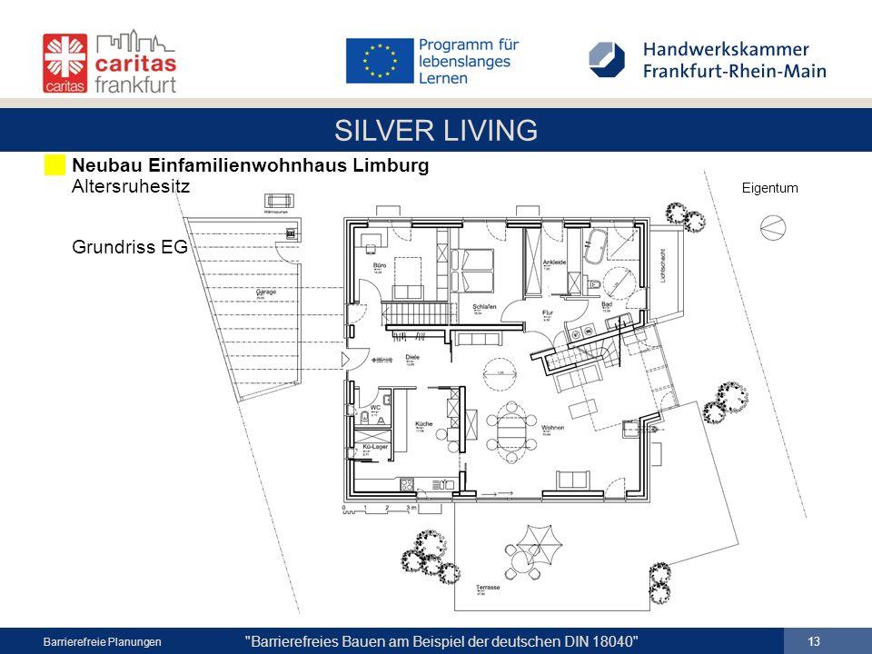 Neubau Einfamilienwohnhaus Limburg Altersruhesitz Eigentum