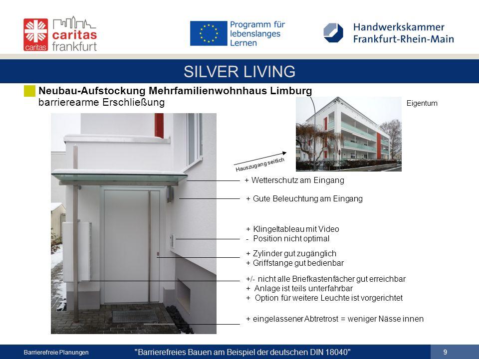 Neubau-Aufstockung Mehrfamilienwohnhaus Limburg barrierearme Erschließung Eigentum
