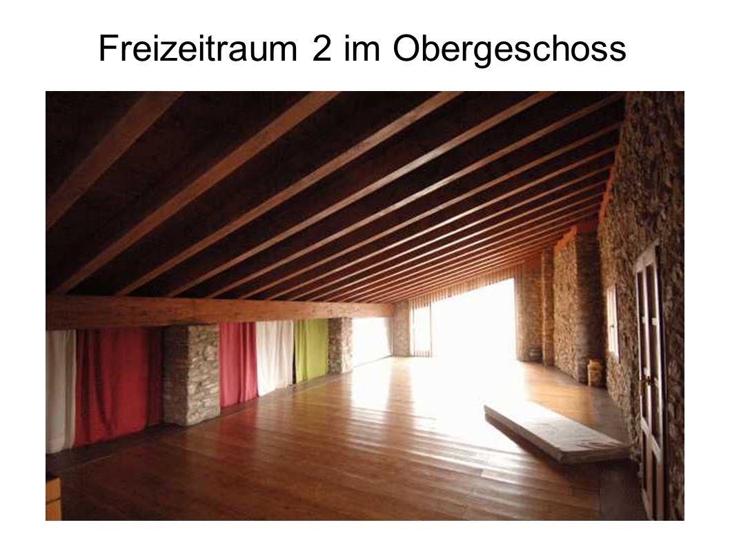 Freizeitraum 2 im Obergeschoss