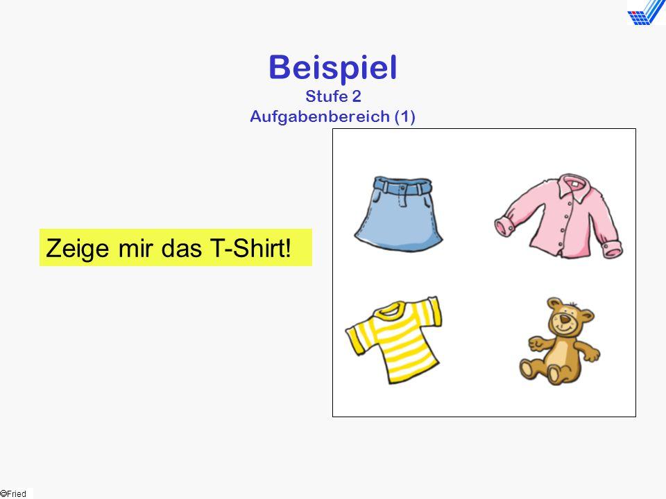 Beispiel Stufe 2 Aufgabenbereich (1)
