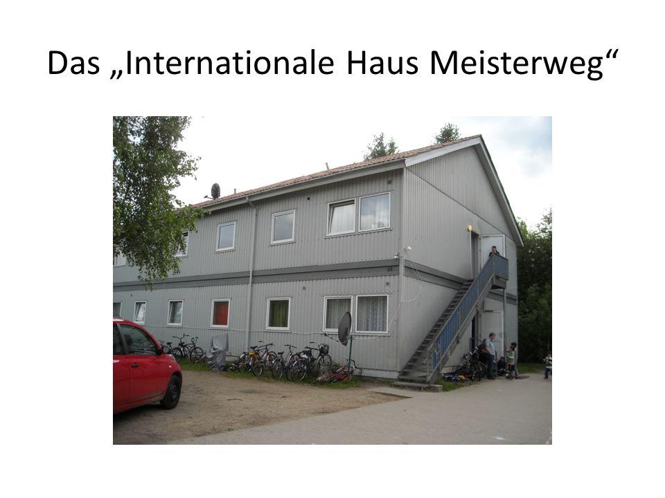 """Das """"Internationale Haus Meisterweg"""