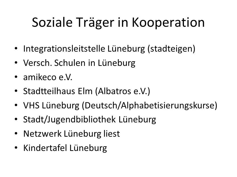 Soziale Träger in Kooperation