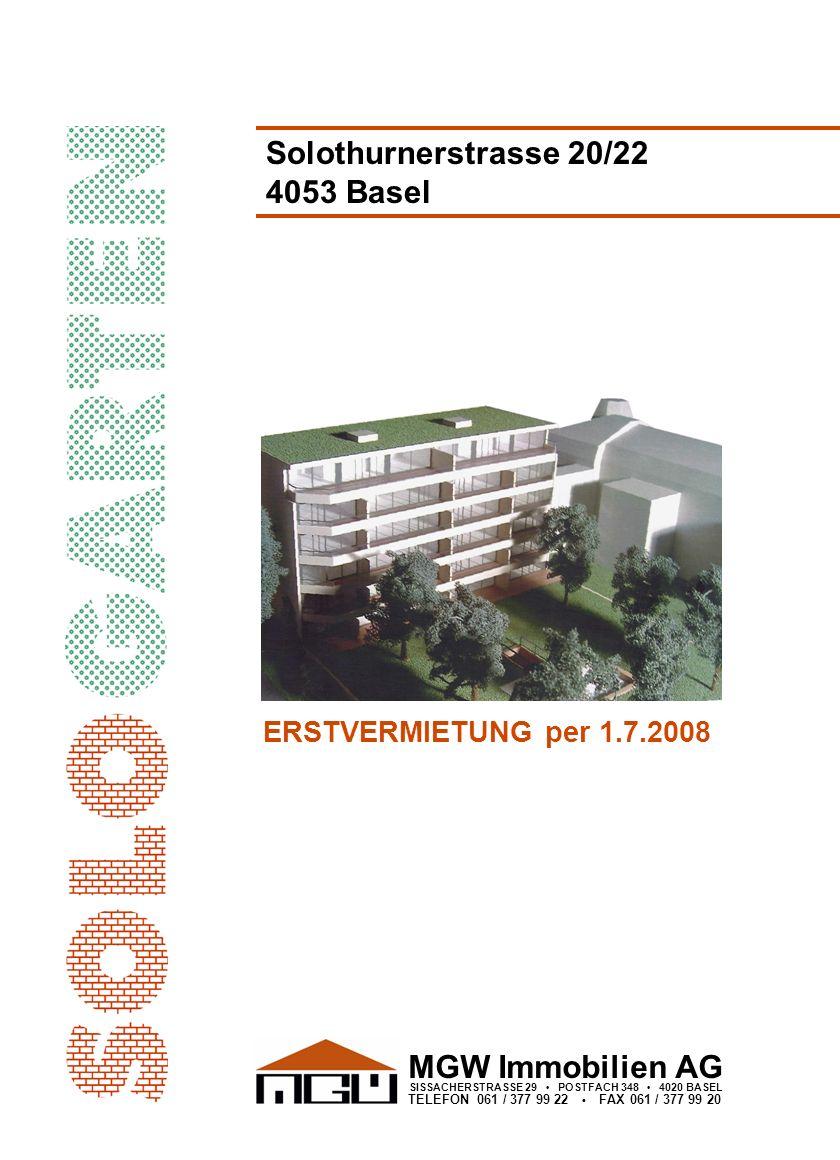 Solothurnerstrasse 20/22 4053 Basel