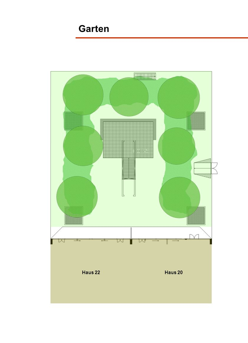 Garten Haus 22 Haus 20