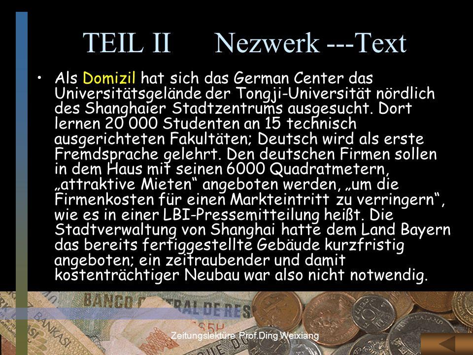 TEIL II Nezwerk ---Text