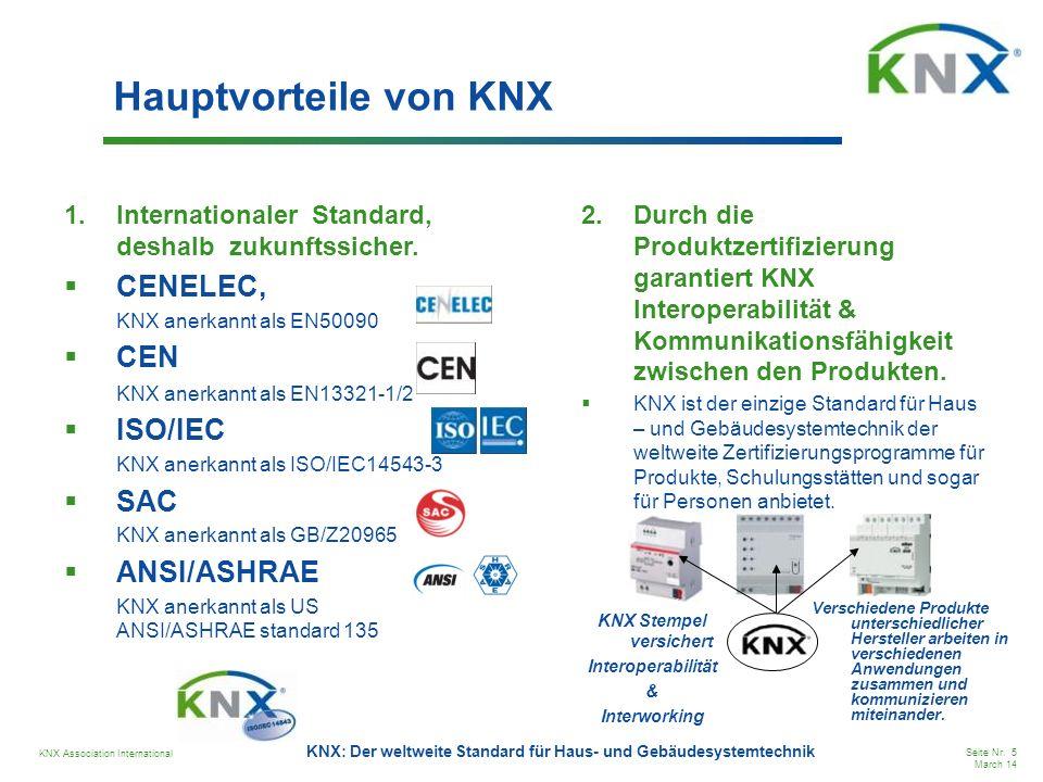 KNX Stempel versichert