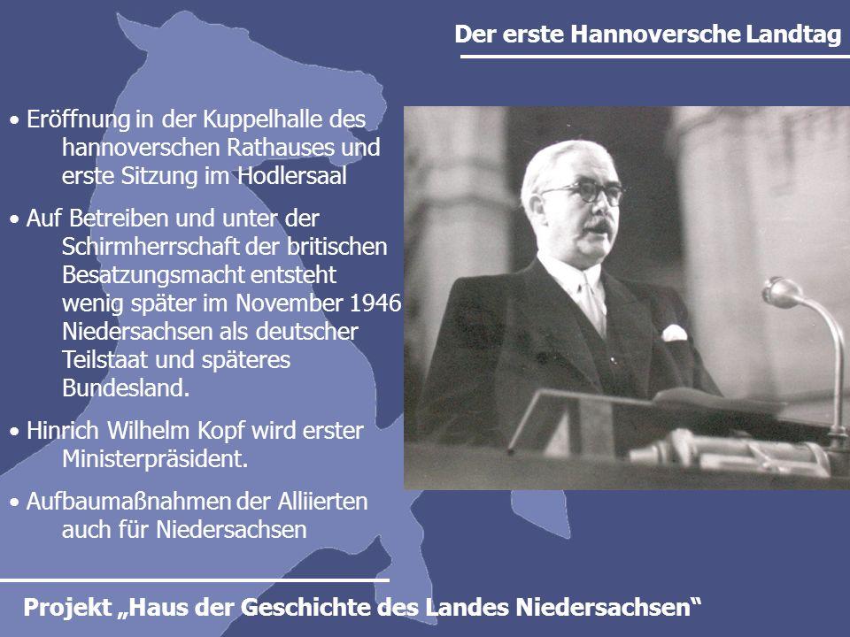 Der erste Hannoversche Landtag