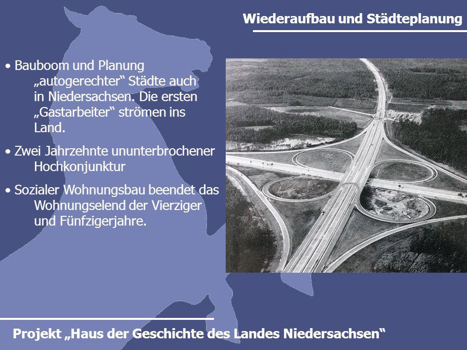 Wiederaufbau und Städteplanung