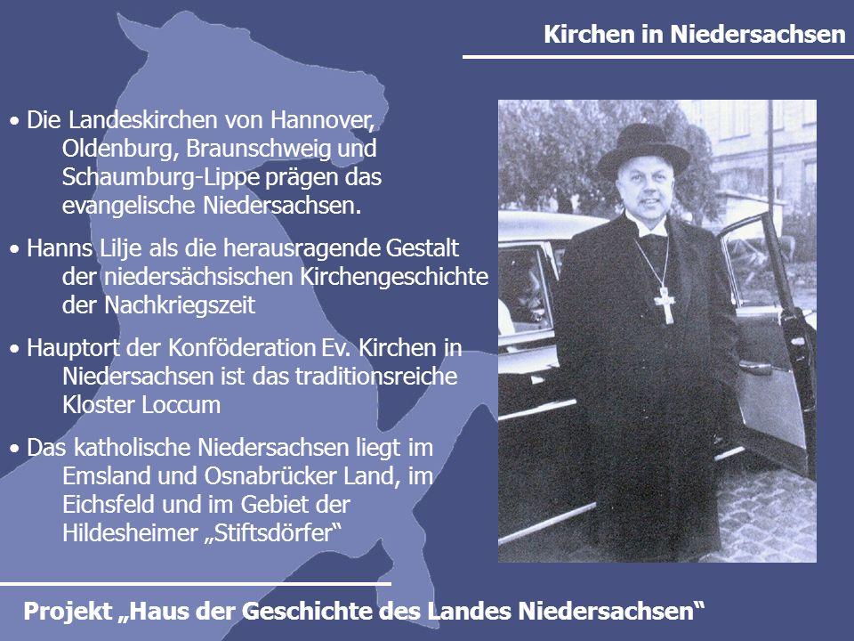 Kirchen in Niedersachsen