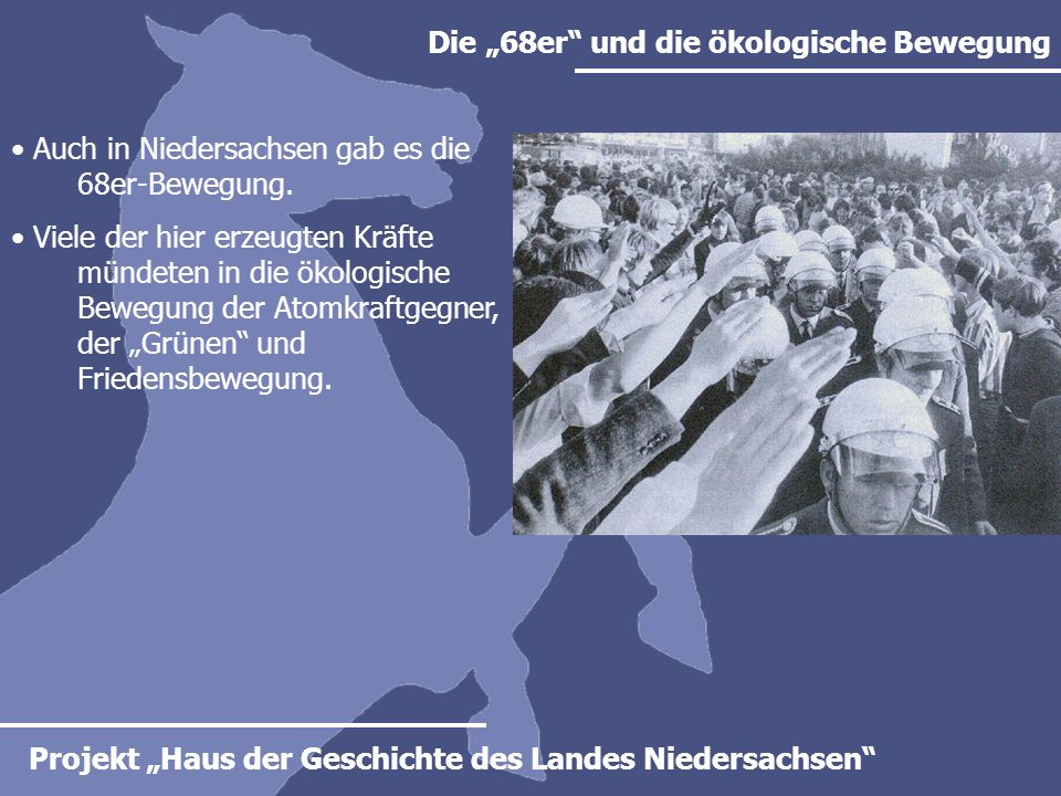 """Die """"68er und die ökologische Bewegung"""