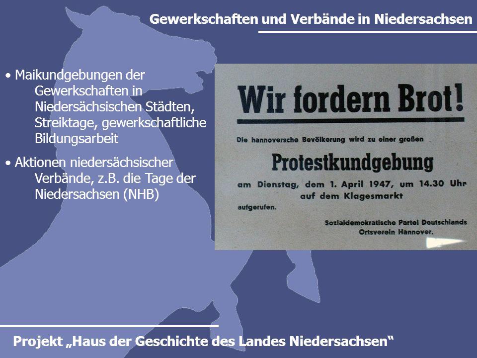 Gewerkschaften und Verbände in Niedersachsen