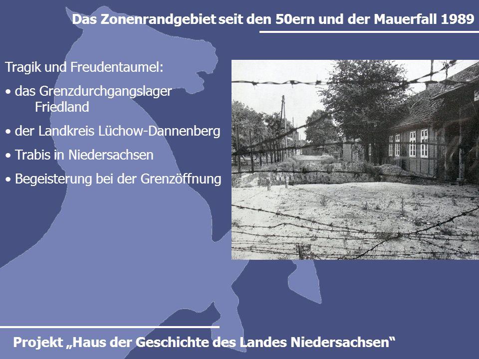 Das Zonenrandgebiet seit den 50ern und der Mauerfall 1989