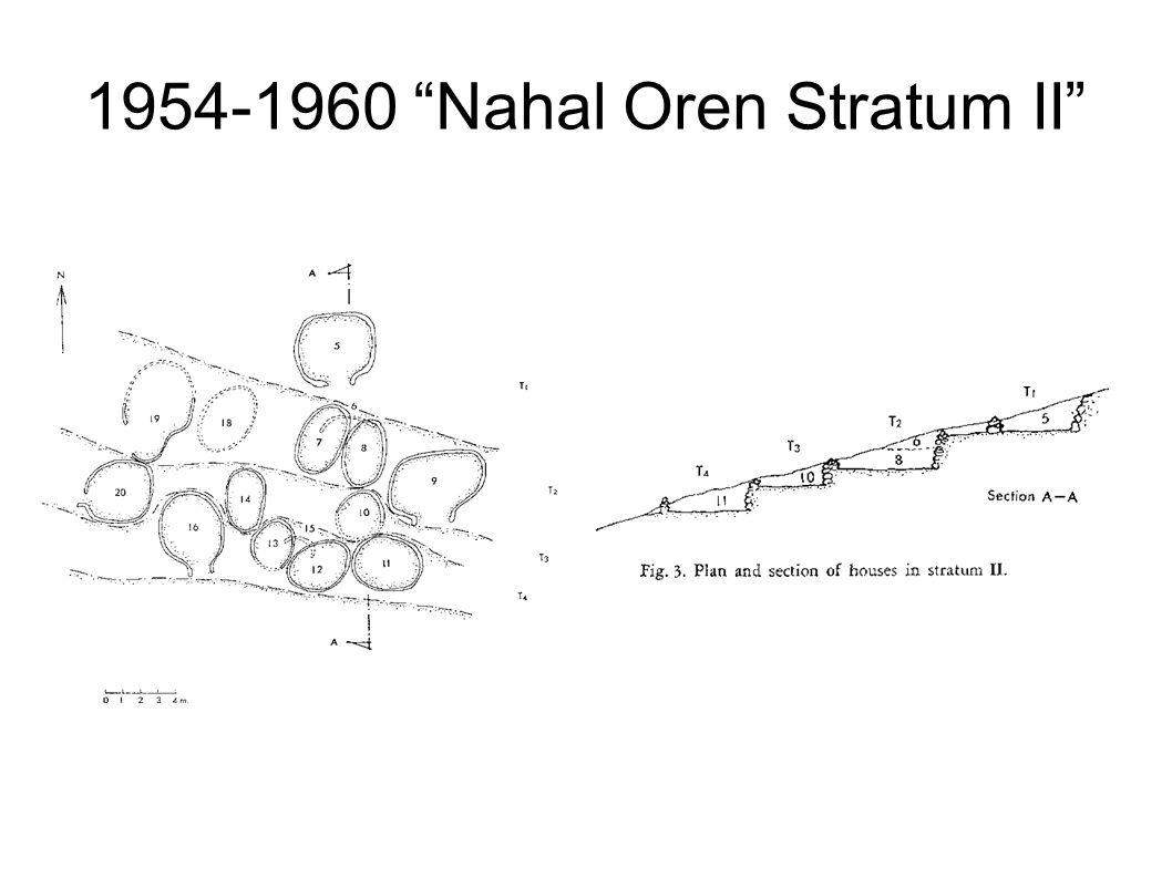 1954-1960 Nahal Oren Stratum II