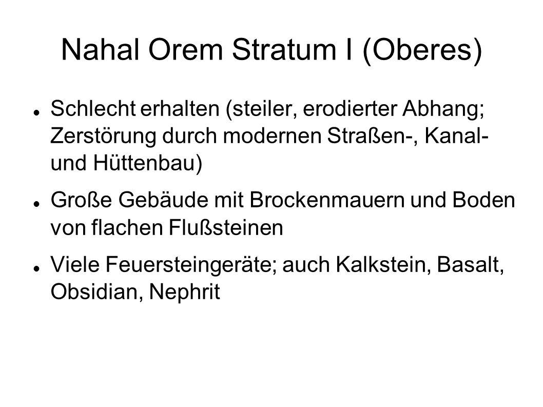 Nahal Orem Stratum I (Oberes)