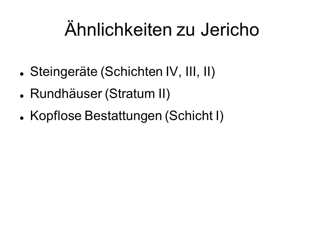 Ähnlichkeiten zu Jericho