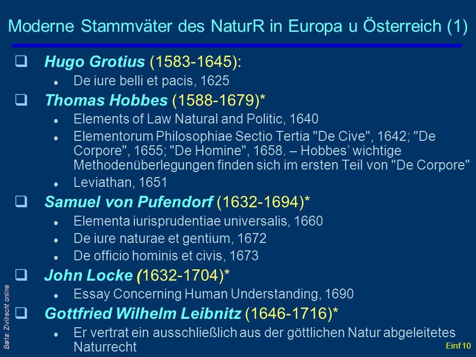 Moderne Stammväter des NaturR in Europa u Österreich (1)