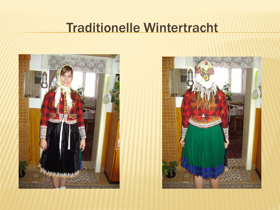 Traditionelle Wintertracht