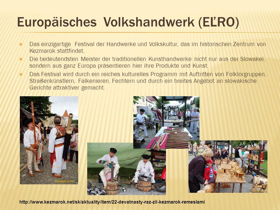 Europäisches Volkshandwerk (EĽRO)