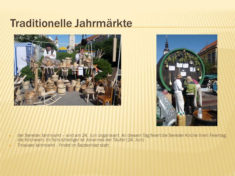 Traditionelle Jahrmärkte