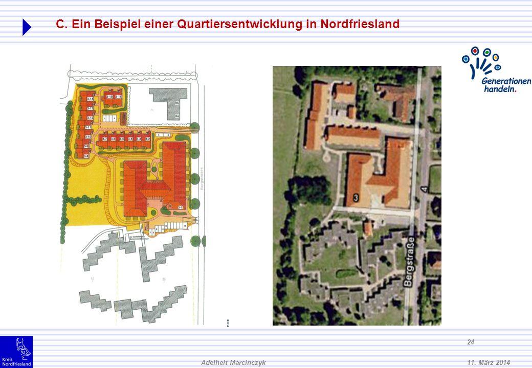 C. Ein Beispiel einer Quartiersentwicklung in Nordfriesland