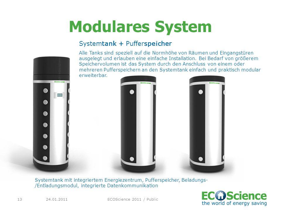 Modulares System Systemtank + Pufferspeicher