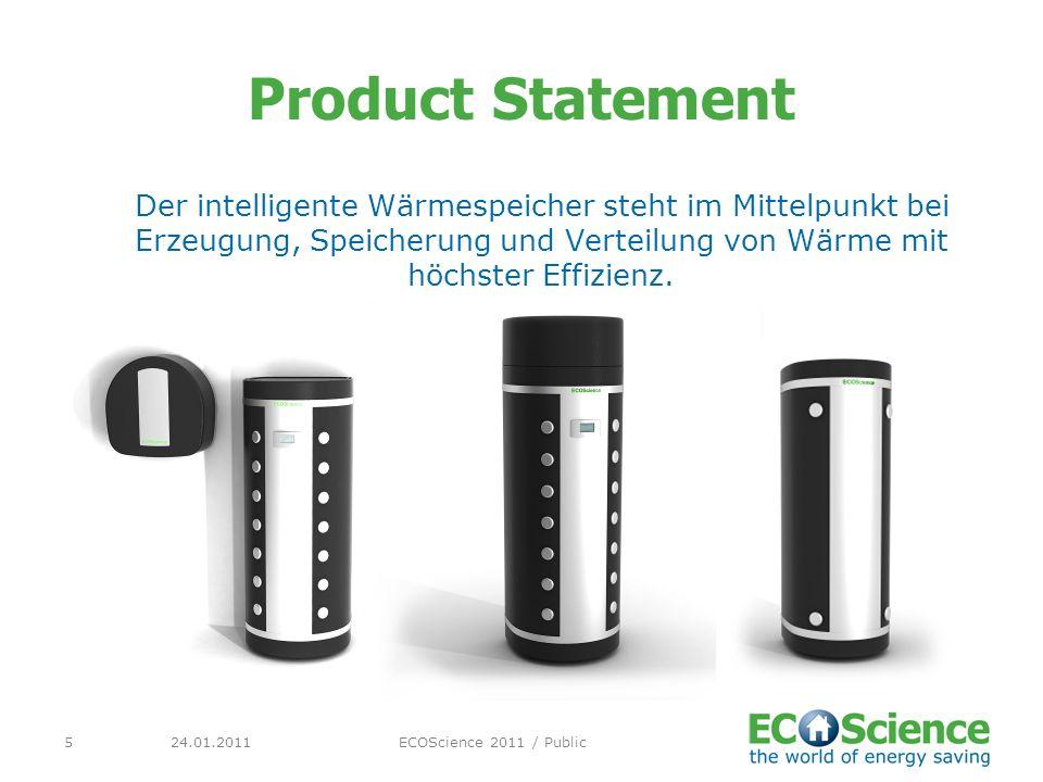 Product Statement Der intelligente Wärmespeicher steht im Mittelpunkt bei Erzeugung, Speicherung und Verteilung von Wärme mit höchster Effizienz.