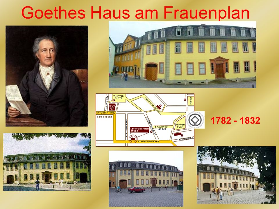Goethes Haus am Frauenplan