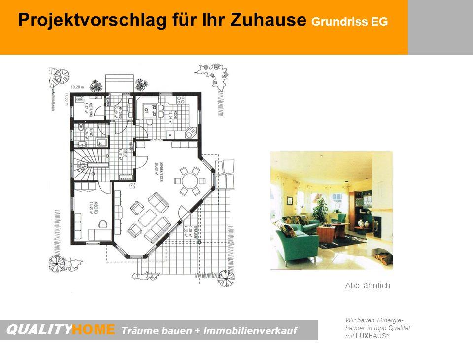 Projektvorschlag für Ihr Zuhause Grundriss EG