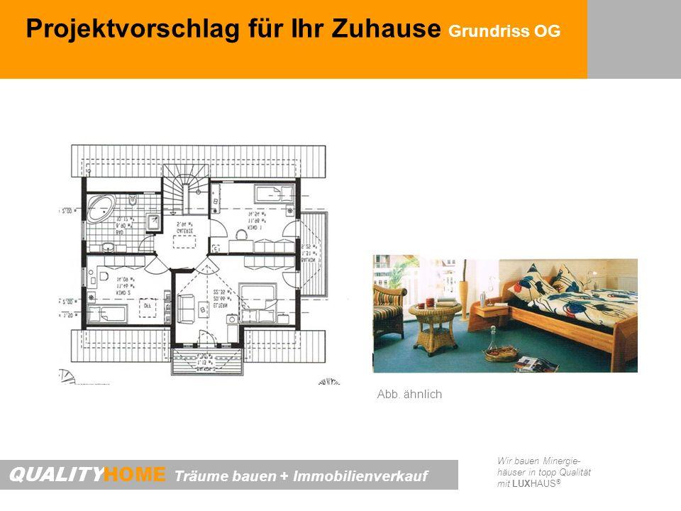 Projektvorschlag für Ihr Zuhause Grundriss OG