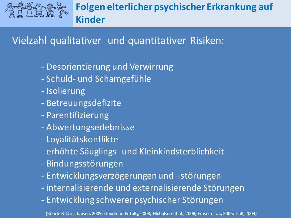 Vielzahl qualitativer und quantitativer Risiken: