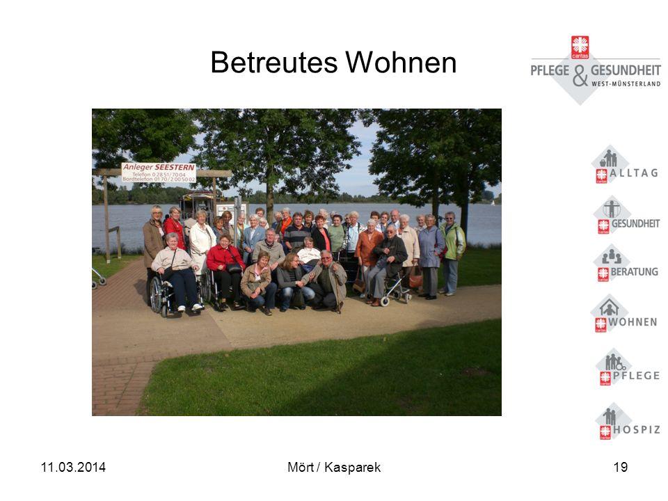 Betreutes Wohnen 28.03.2017 Mört / Kasparek
