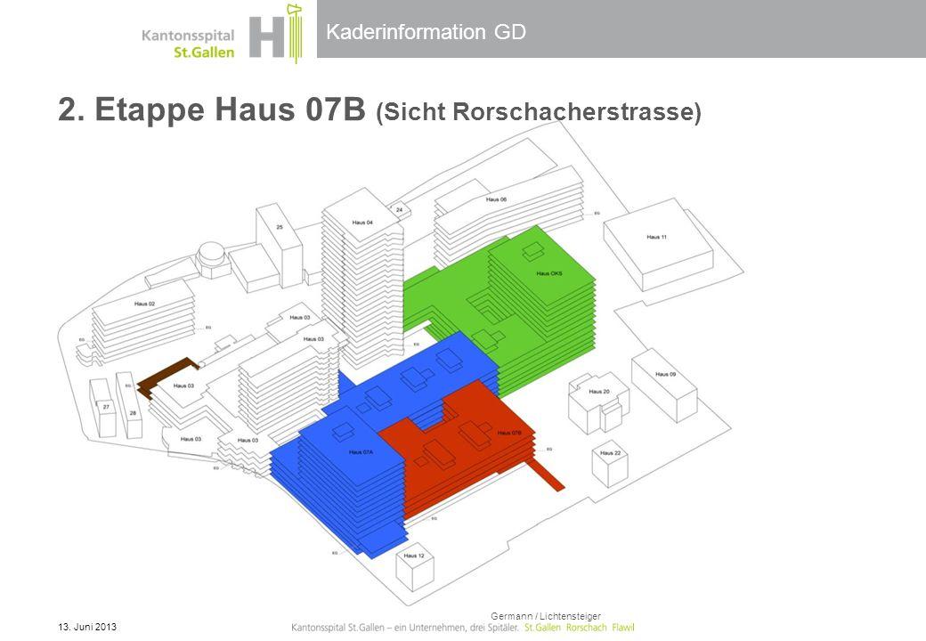 2. Etappe Haus 07B (Sicht Rorschacherstrasse)