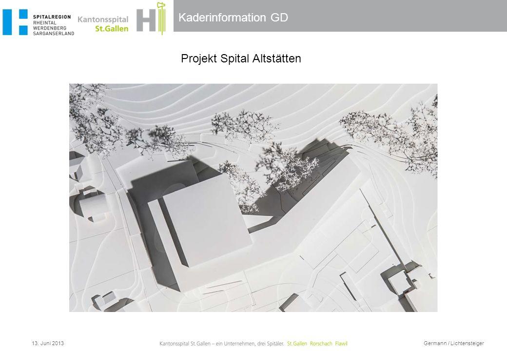 Projekt Spital Altstätten