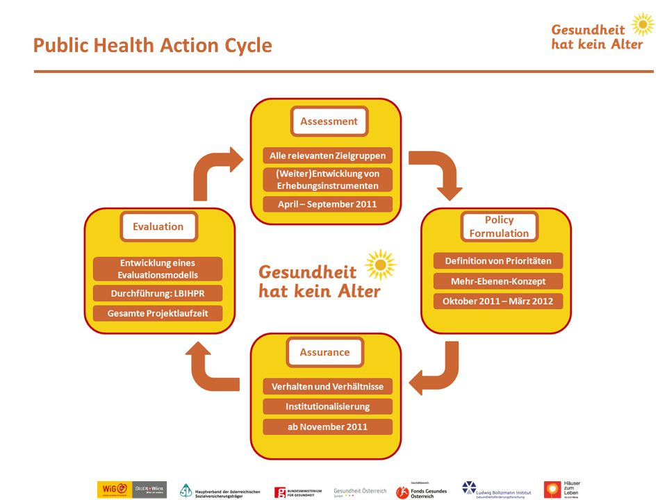 Public Health Action Cycle