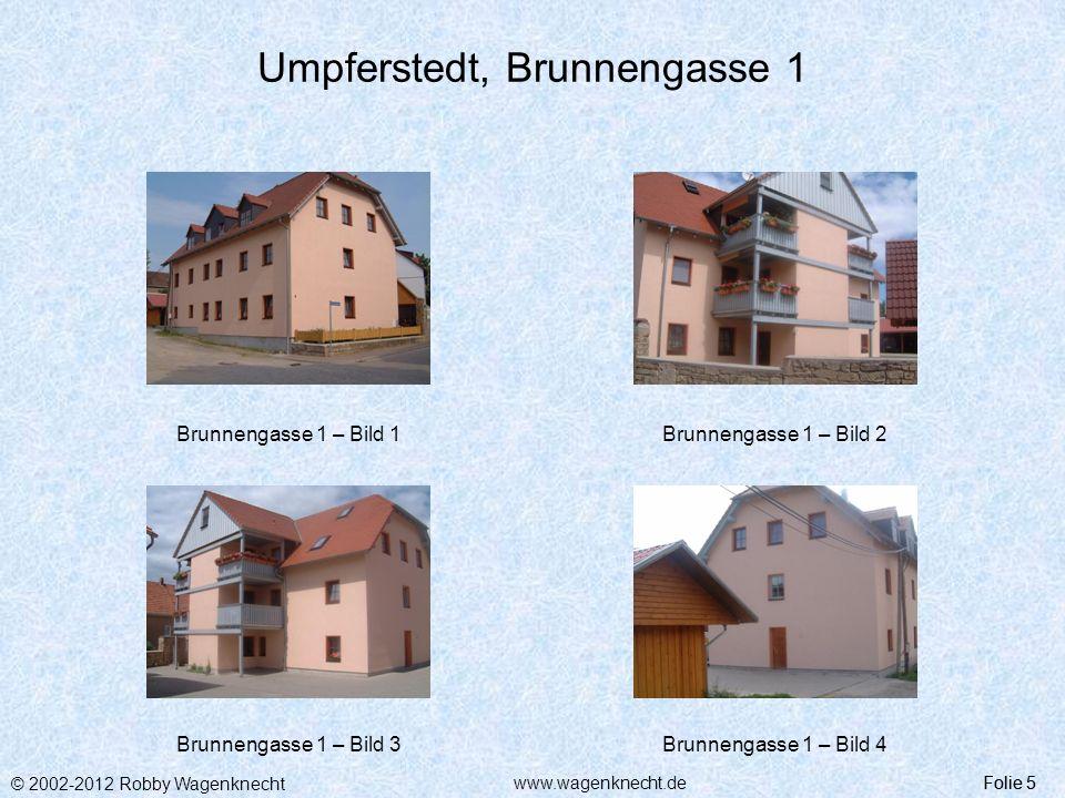 Umpferstedt, Brunnengasse 1