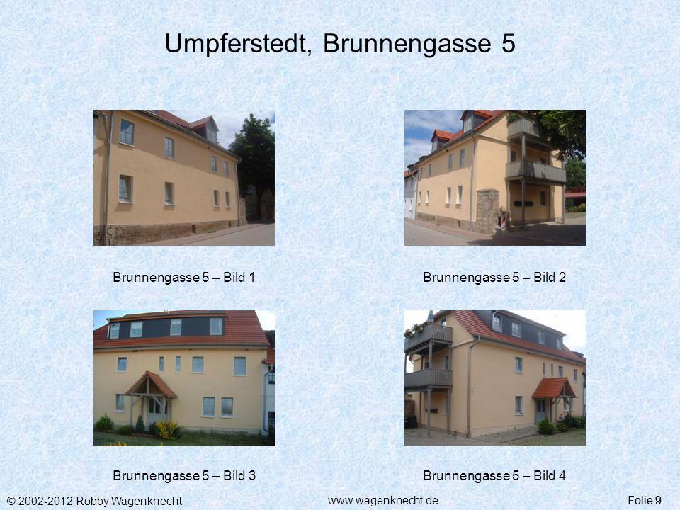 Umpferstedt, Brunnengasse 5