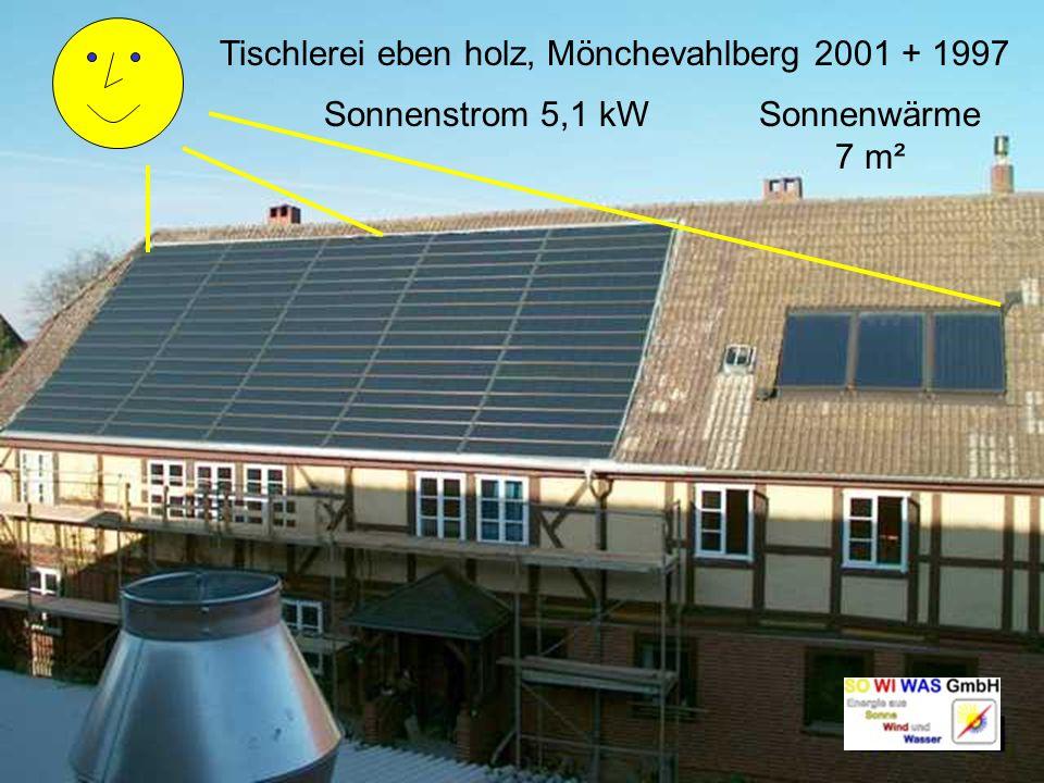 Tischlerei eben holz, Mönchevahlberg 2001 + 1997