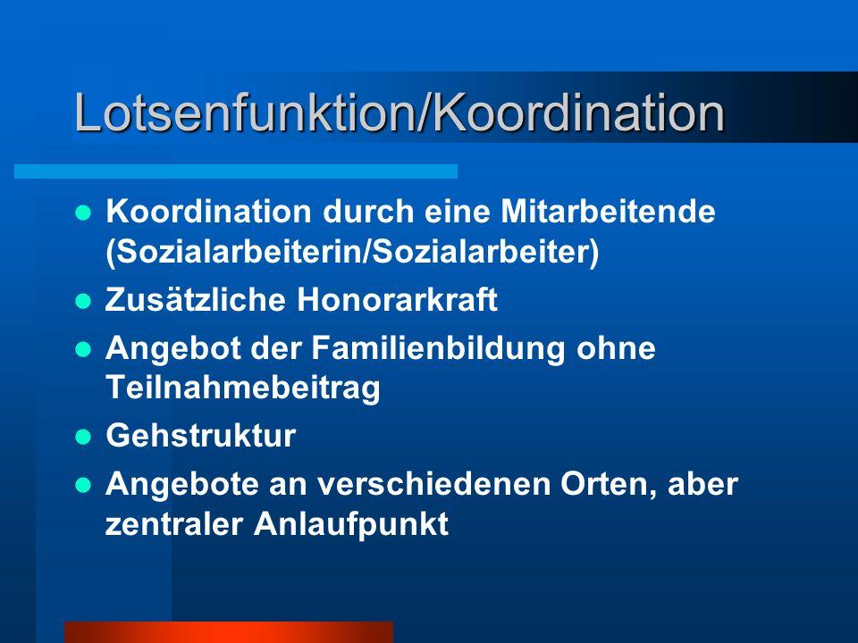Lotsenfunktion/Koordination