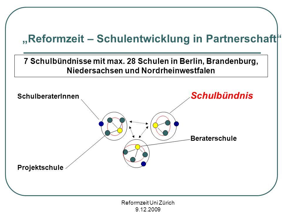 """""""Reformzeit – Schulentwicklung in Partnerschaft"""