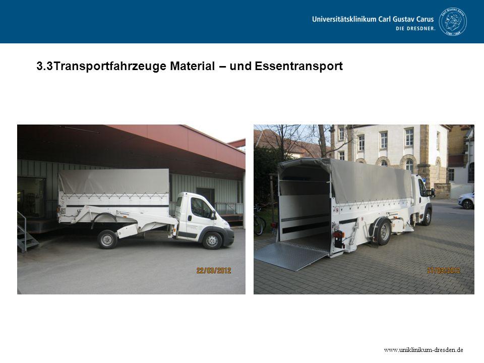 3.3Transportfahrzeuge Material – und Essentransport