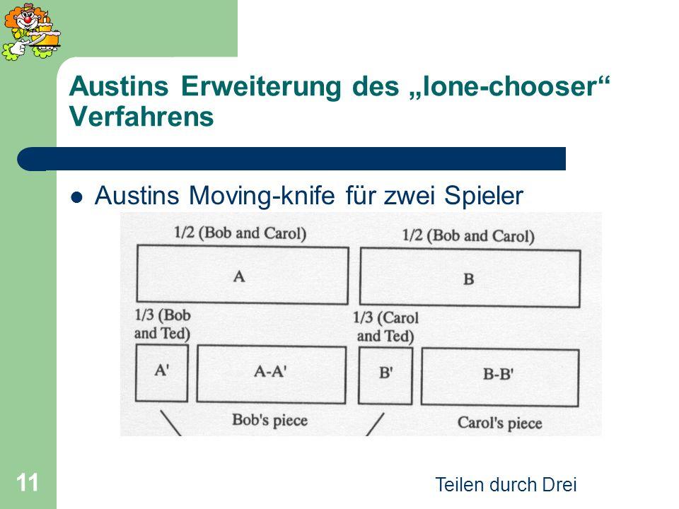 """Austins Erweiterung des """"lone-chooser Verfahrens"""