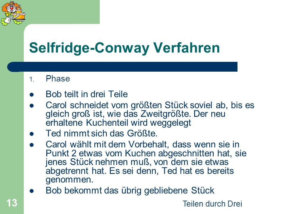 Selfridge-Conway Verfahren