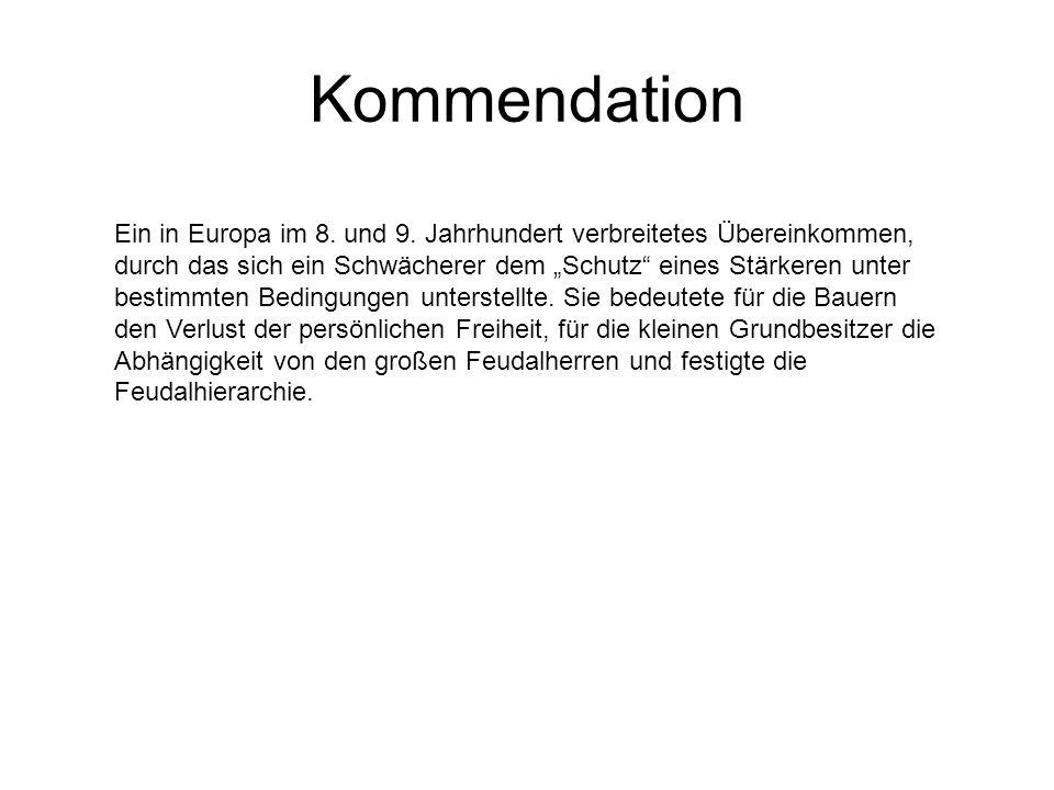 Kommendation