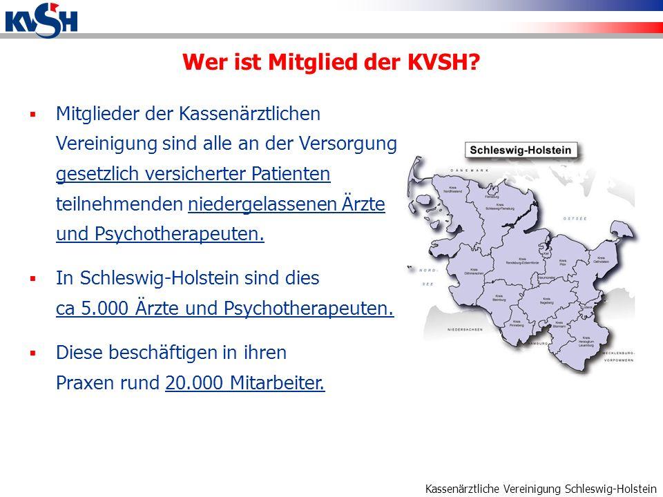 Wer ist Mitglied der KVSH