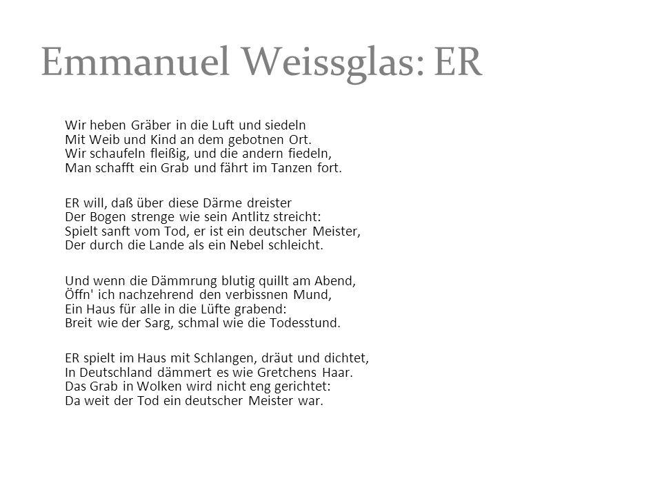 Emmanuel Weissglas: ER