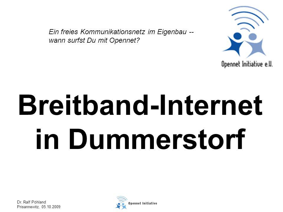 Breitband-Internet in Dummerstorf