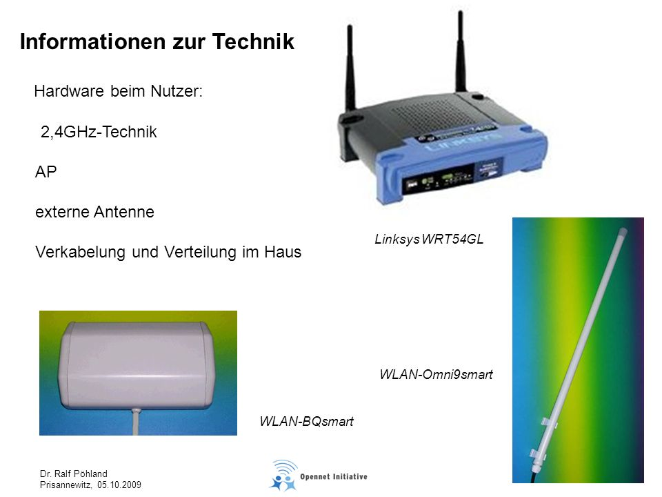 Informationen zur Technik