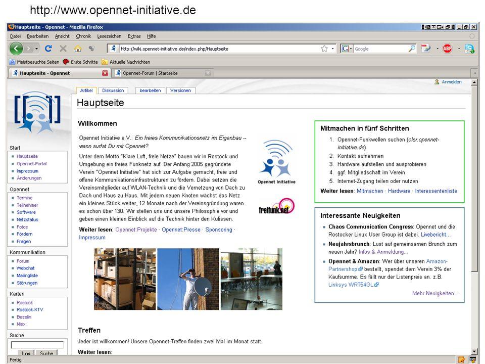 http://www.opennet-initiative.de Dr. Ralf Pöhland