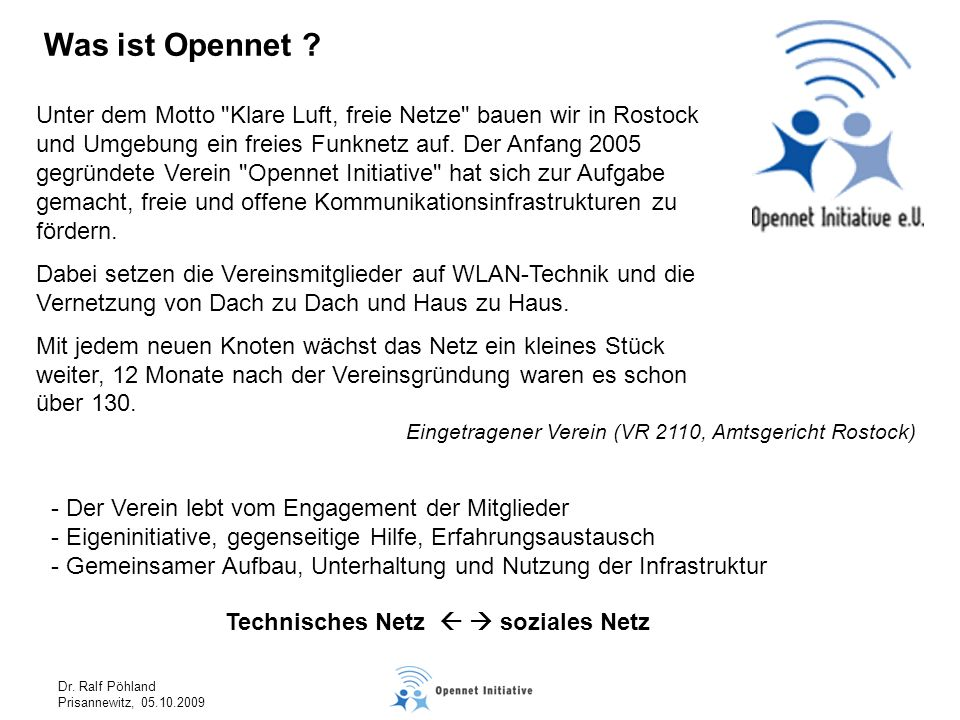 Was ist Opennet