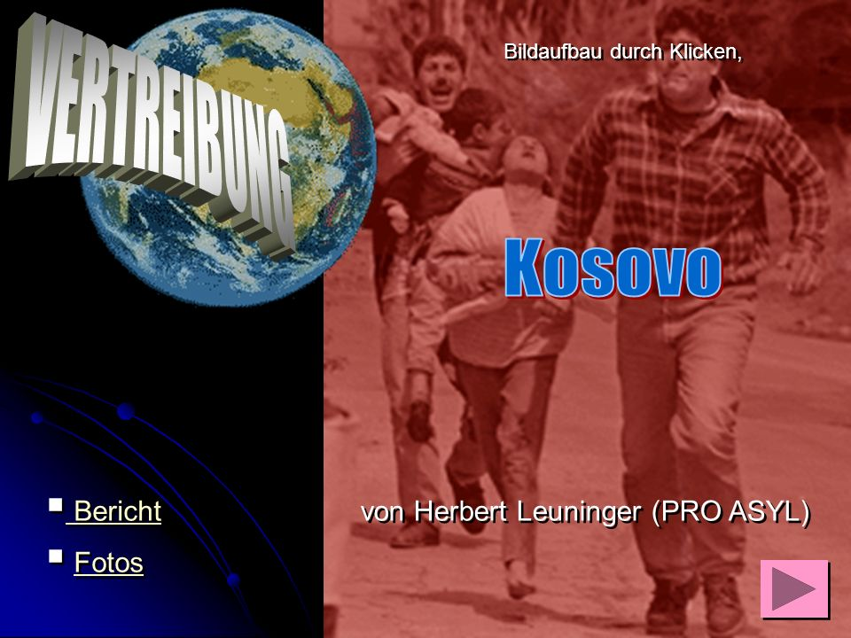 VERTREIBUNG Kosovo Bericht Fotos von Herbert Leuninger (PRO ASYL)